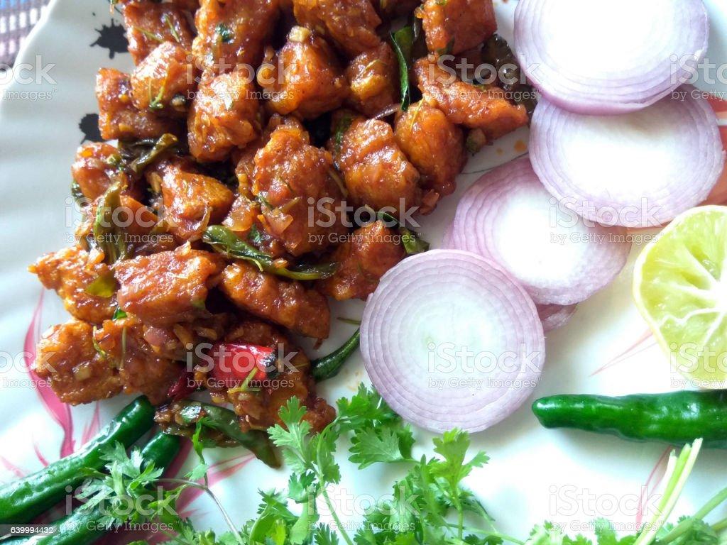 Chicken Recipe stock photo