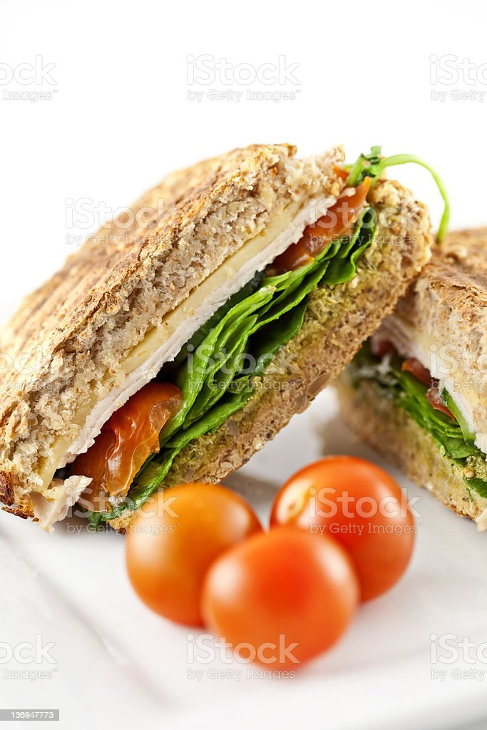 Chicken Salad Sandwich stock photo