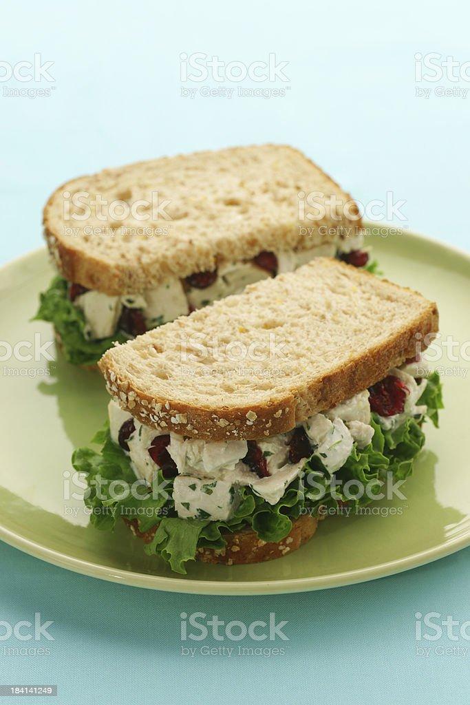 Chicken Salad Sandwich royalty-free stock photo