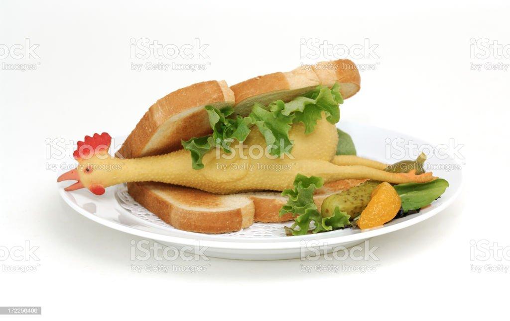 chicken sandwich stock photo