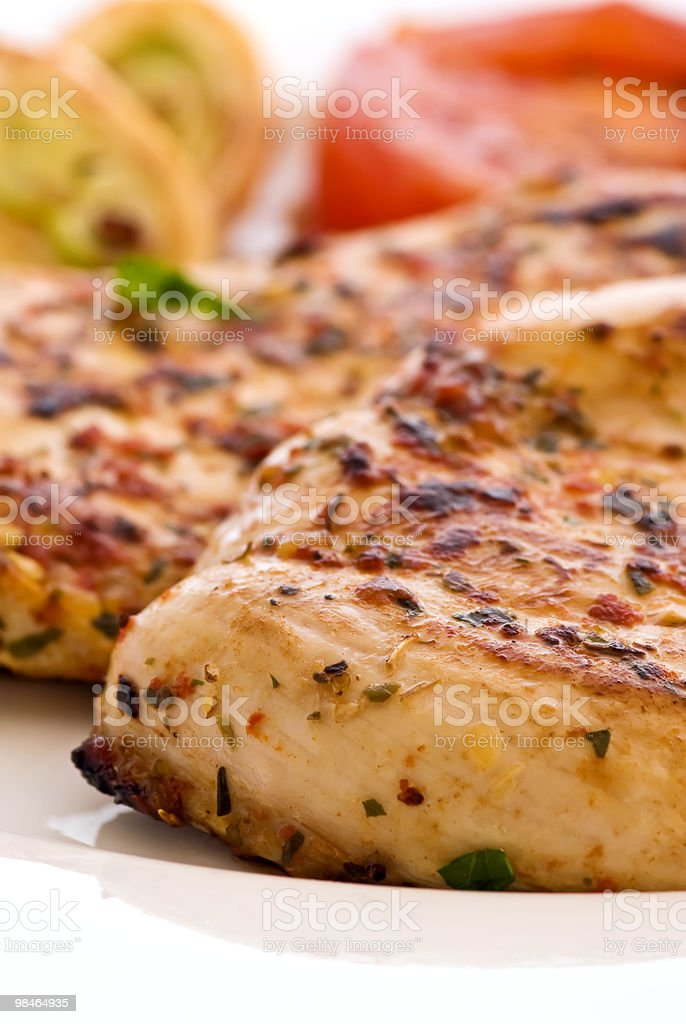 Chicken Steak stock photo