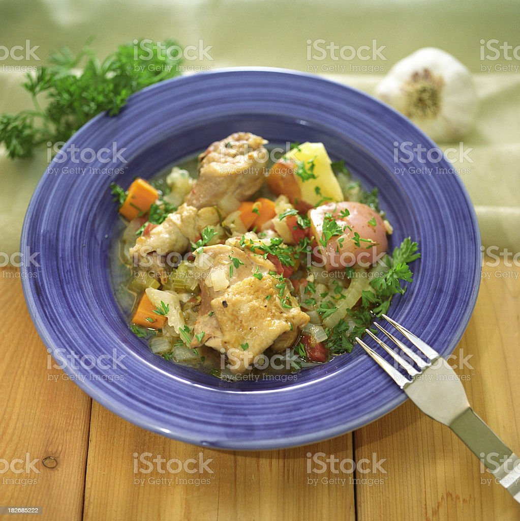 Chicken Stew royalty-free stock photo