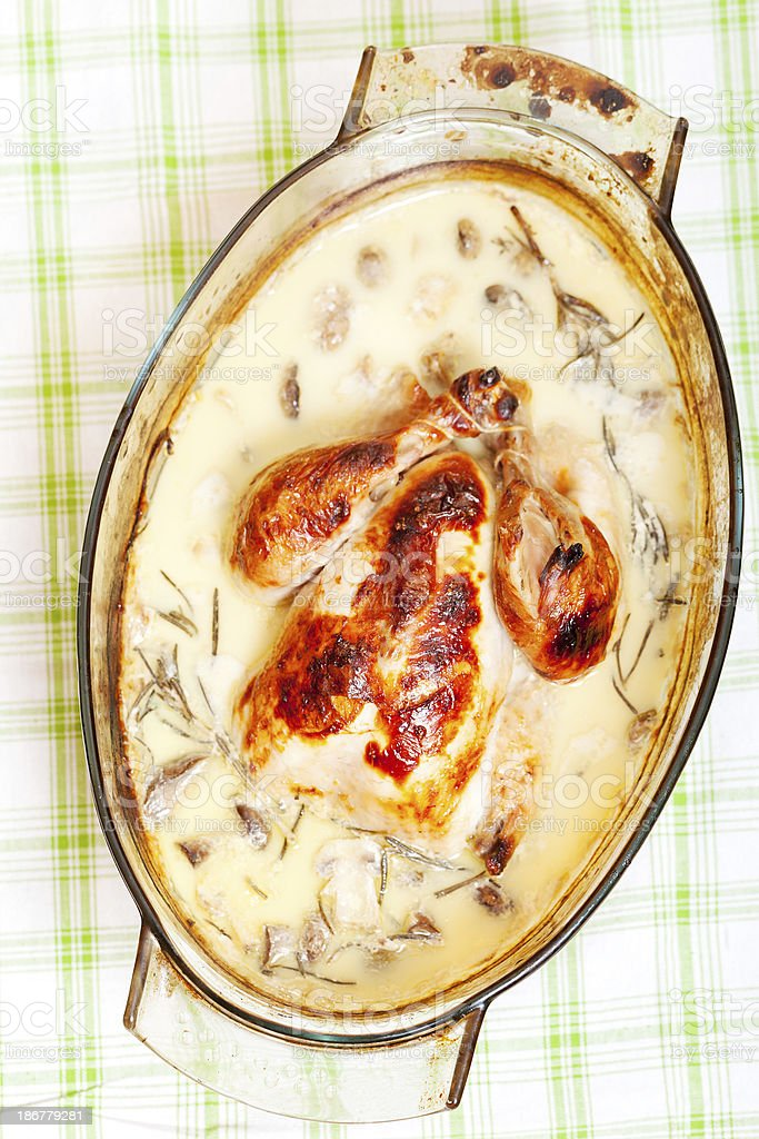 Chicken Stew royalty-free stock photo