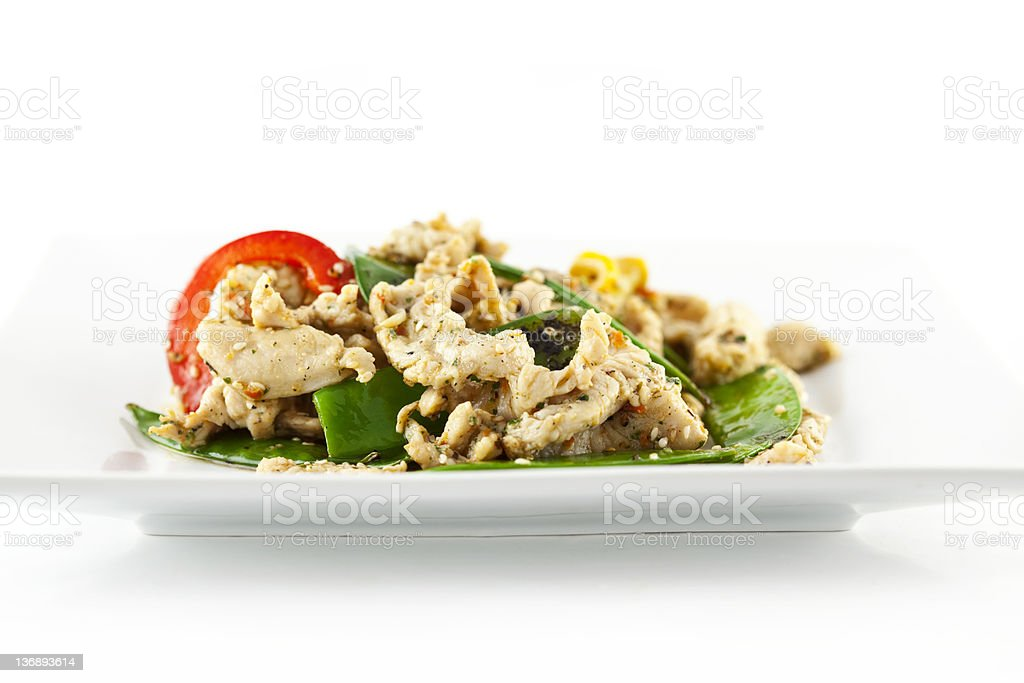 Chicken Stirfry royalty-free stock photo