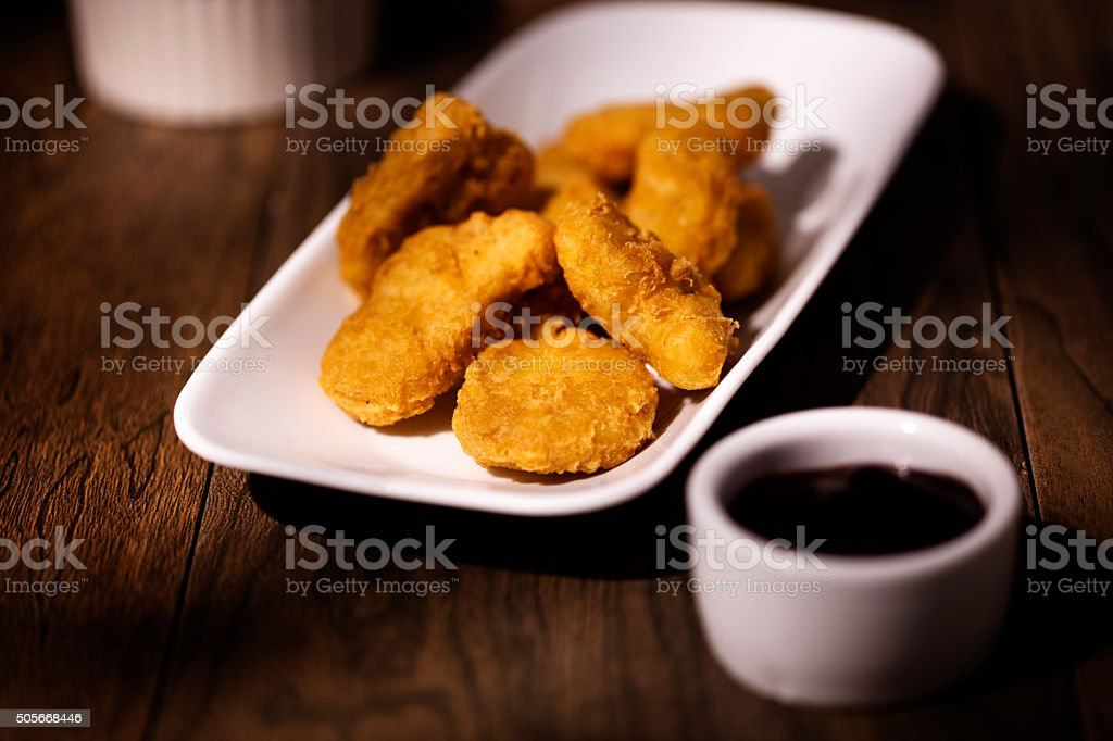 Chicken Tender Nuggets stock photo