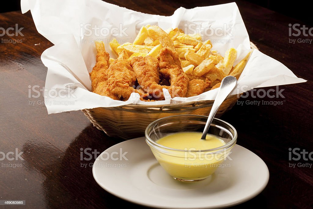 Chicken tenders royalty-free stock photo
