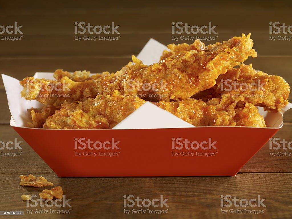 chicken tenders stock photo