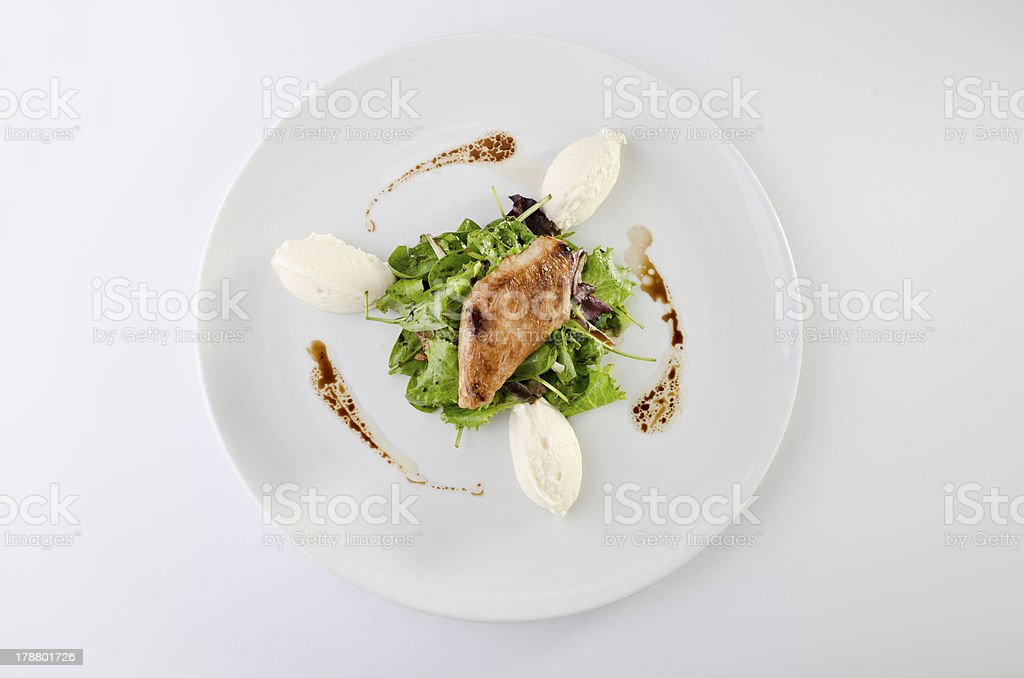Chicken teryiaki stock photo