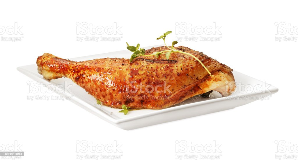 Chicken thighs royalty-free stock photo