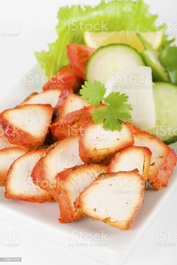 Chicken Tikka royalty-free stock photo