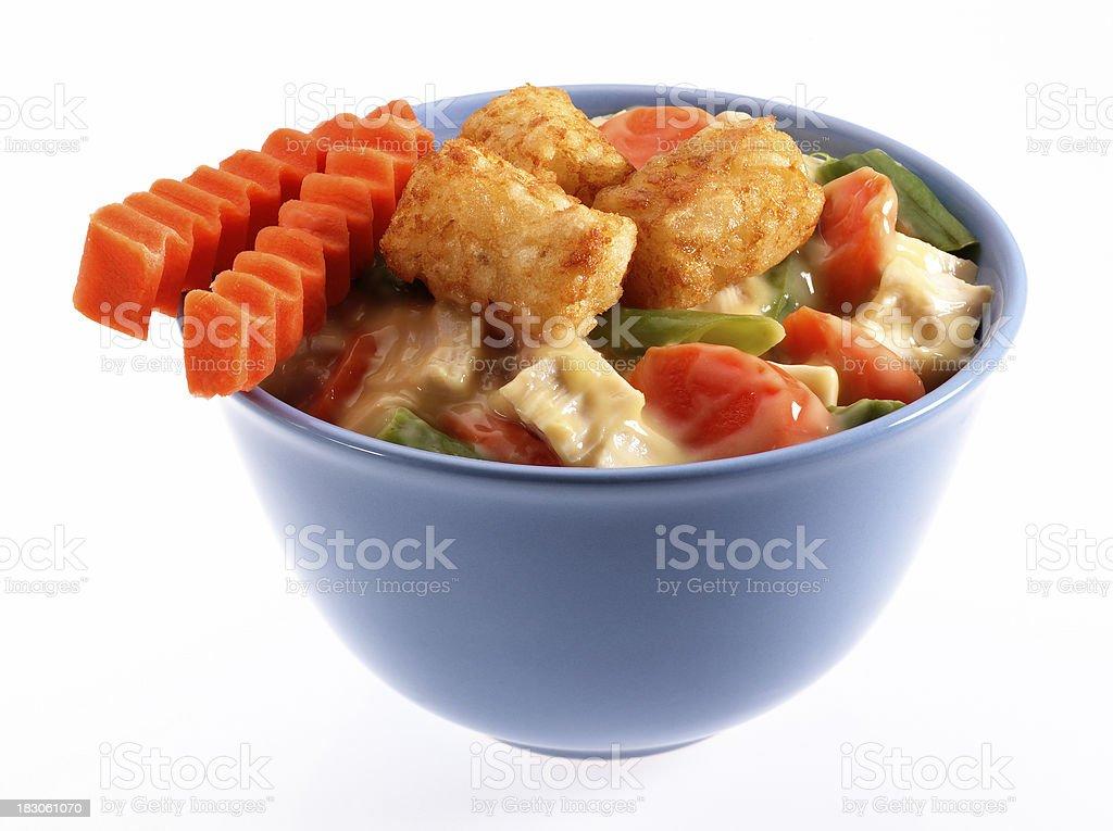 Chicken Vegetable Stew stock photo