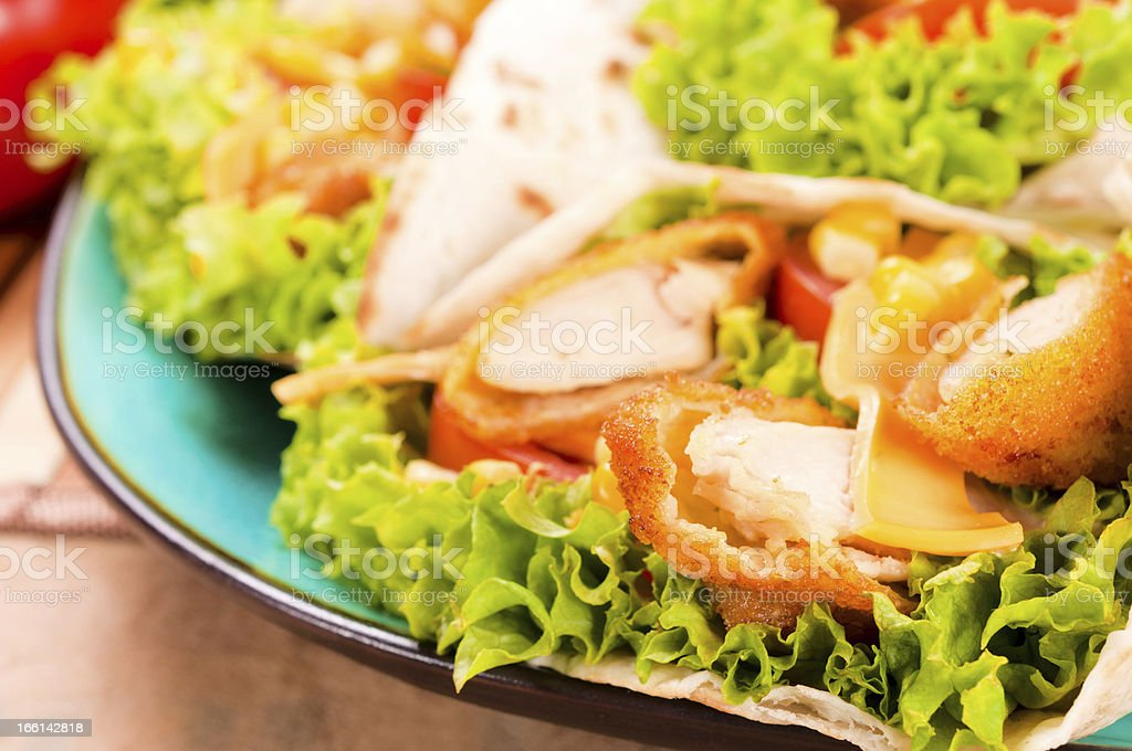 Chicken white meat royalty-free stock photo