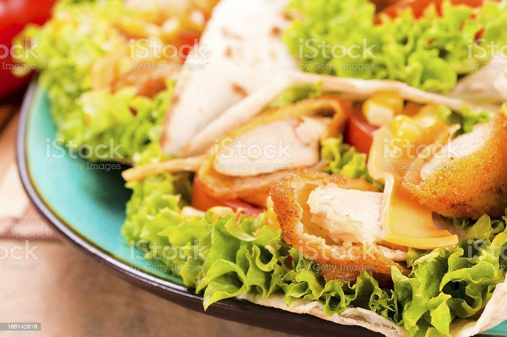 Chicken white meat stock photo