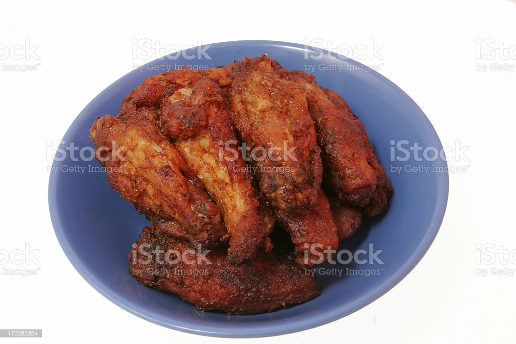 Chicken Wings  4 royalty-free stock photo