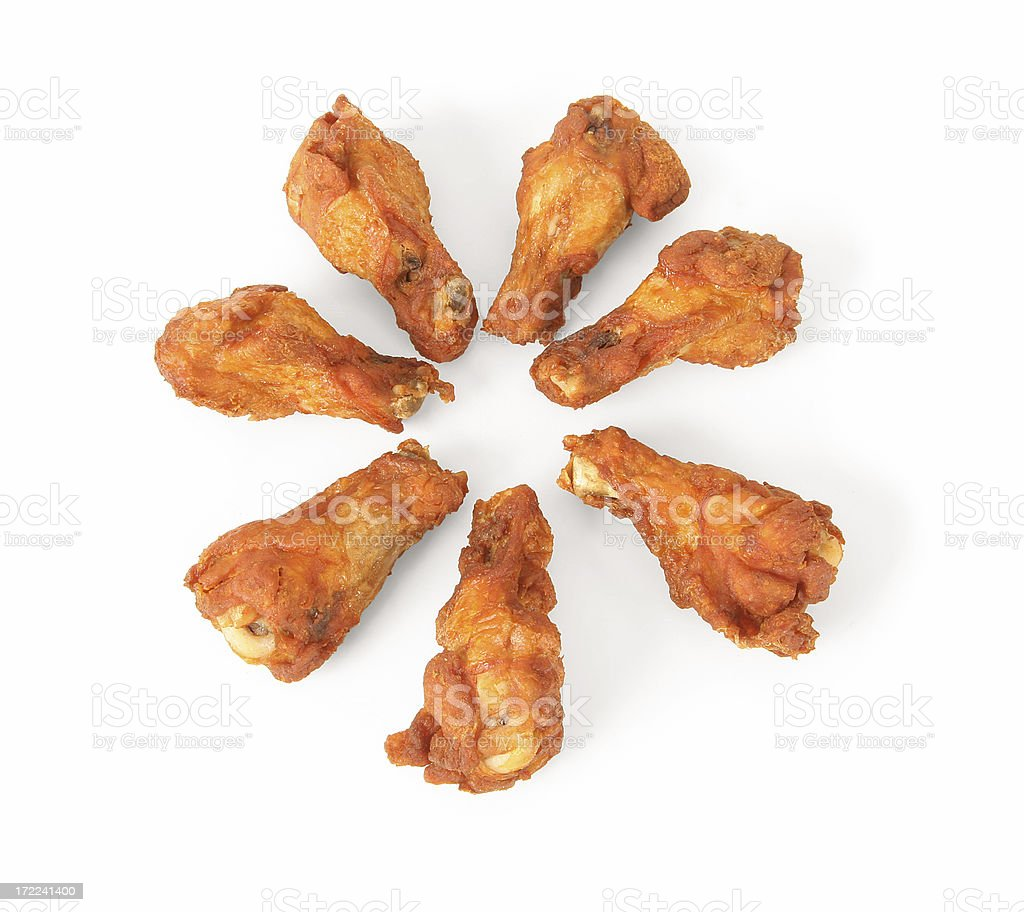 Chicken Wings stock photo