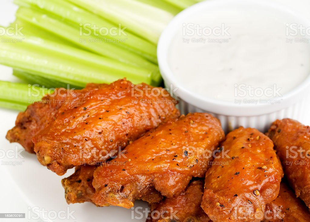 Chicken Wings royalty-free stock photo