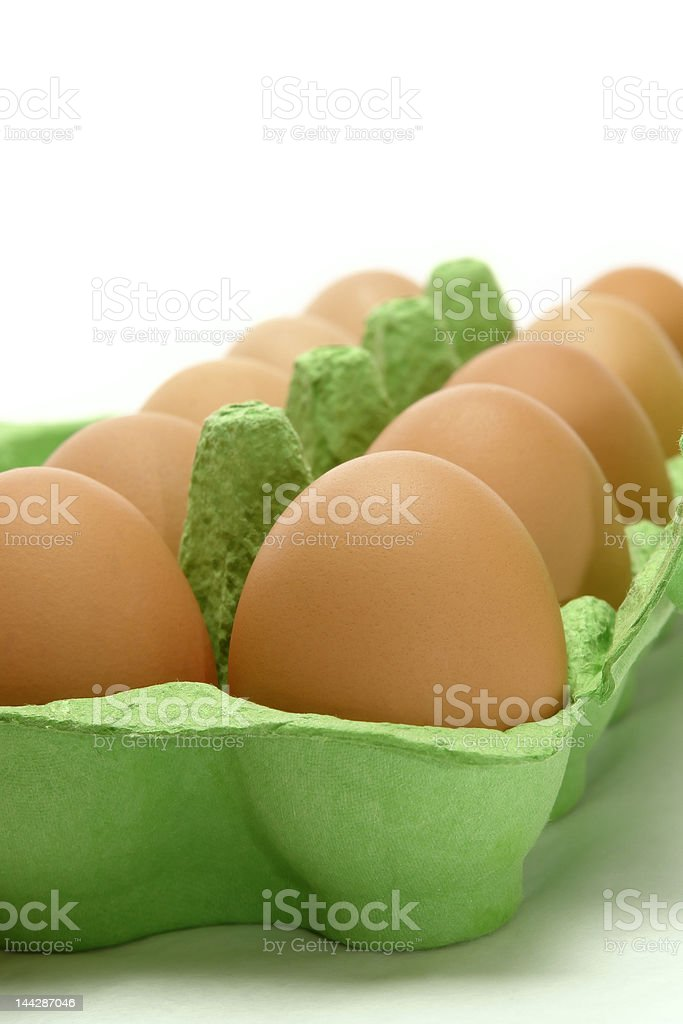 Chicken's eggs royalty-free stock photo