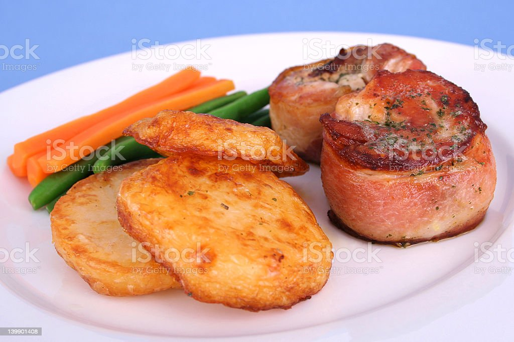 Chicket fillet mignon royalty-free stock photo
