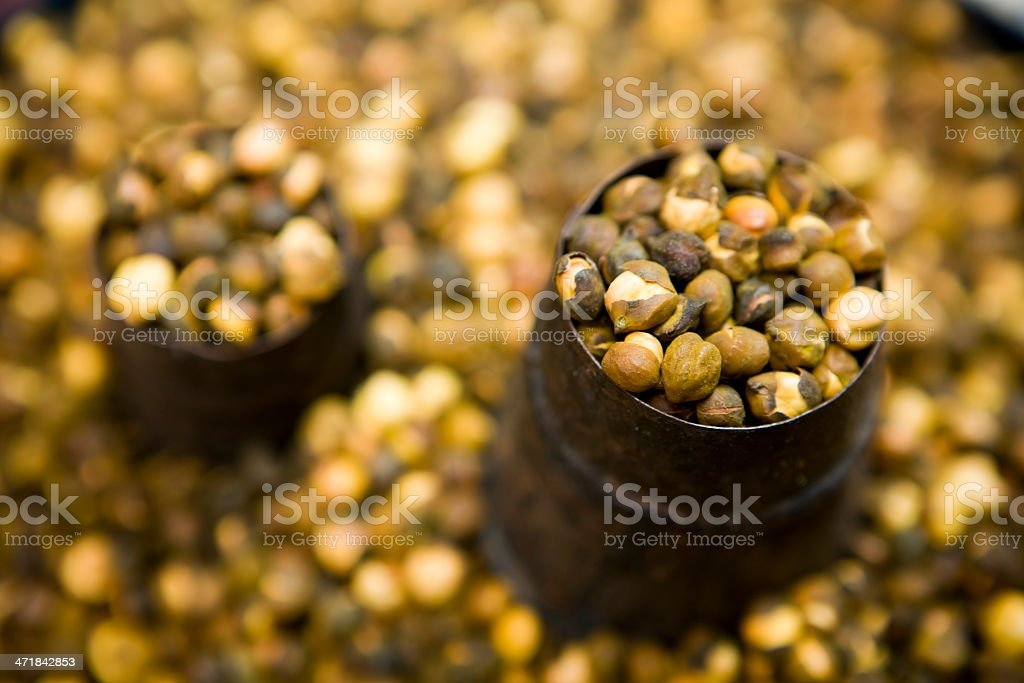 Chickpea Garbanzo Bean Healthy Eating Organic royalty-free stock photo