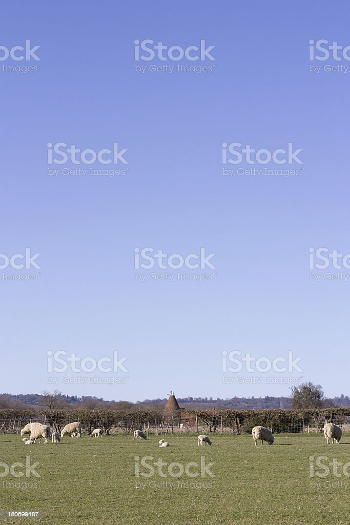 Chiddingstone in Kent, England royalty-free stock photo