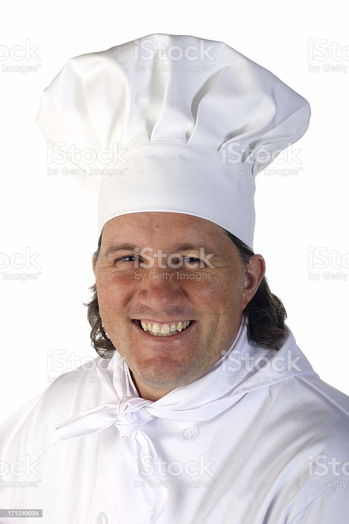 Chef Hogie royalty-free stock photo