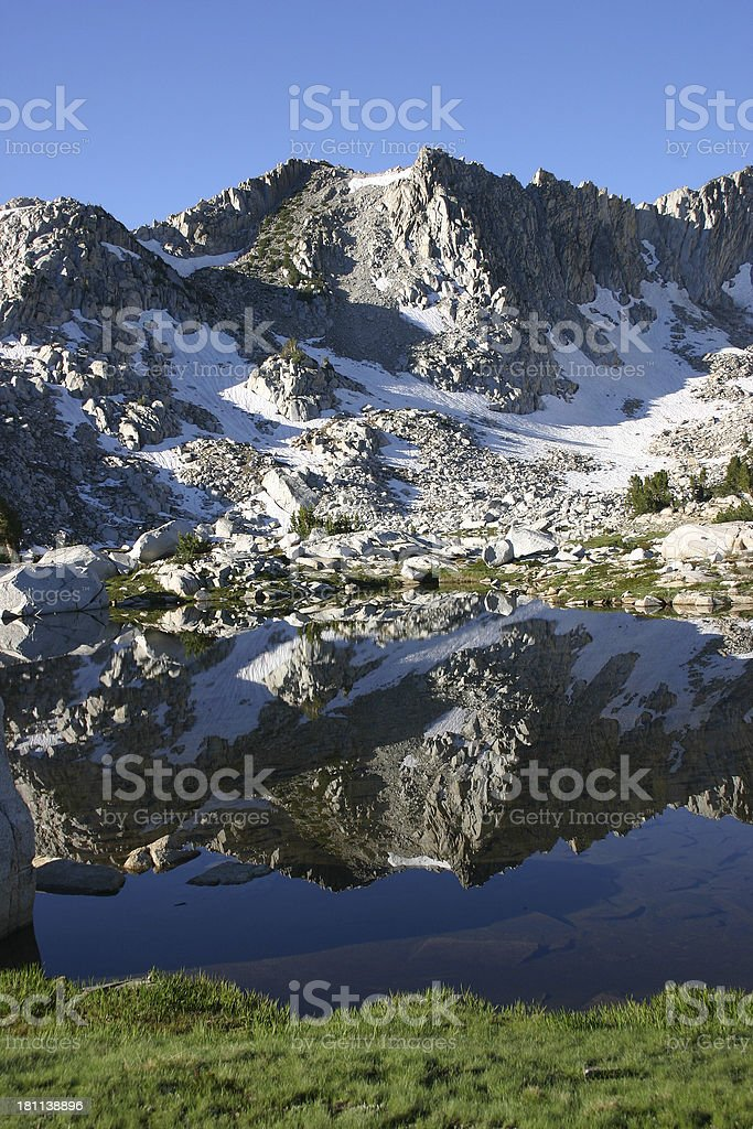 Chief Lake Reflections royalty-free stock photo