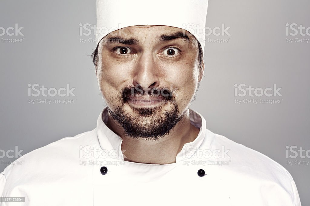 Chef royalty-free stock photo