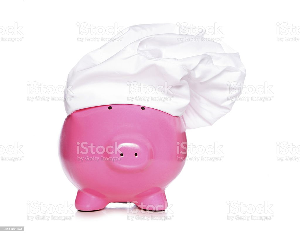 chief piggy bank royalty-free stock photo