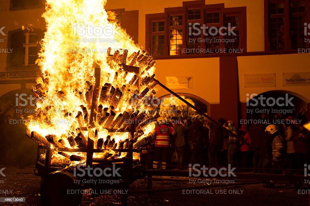 Chienbaese Festival Liestal stock photo