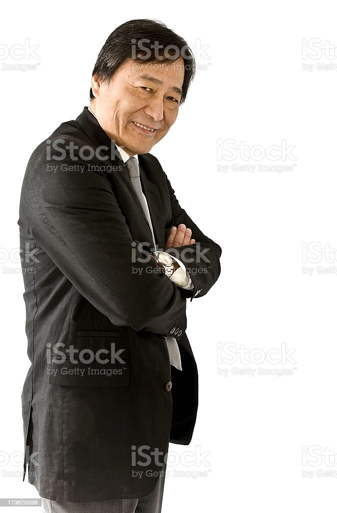 Chienes Businessman royalty-free stock photo