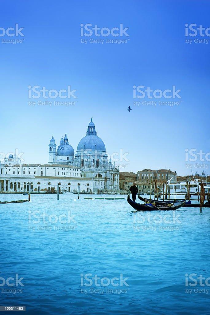 Chiesa de Santa Maria della Salute. Venice - Italy. royalty-free stock photo