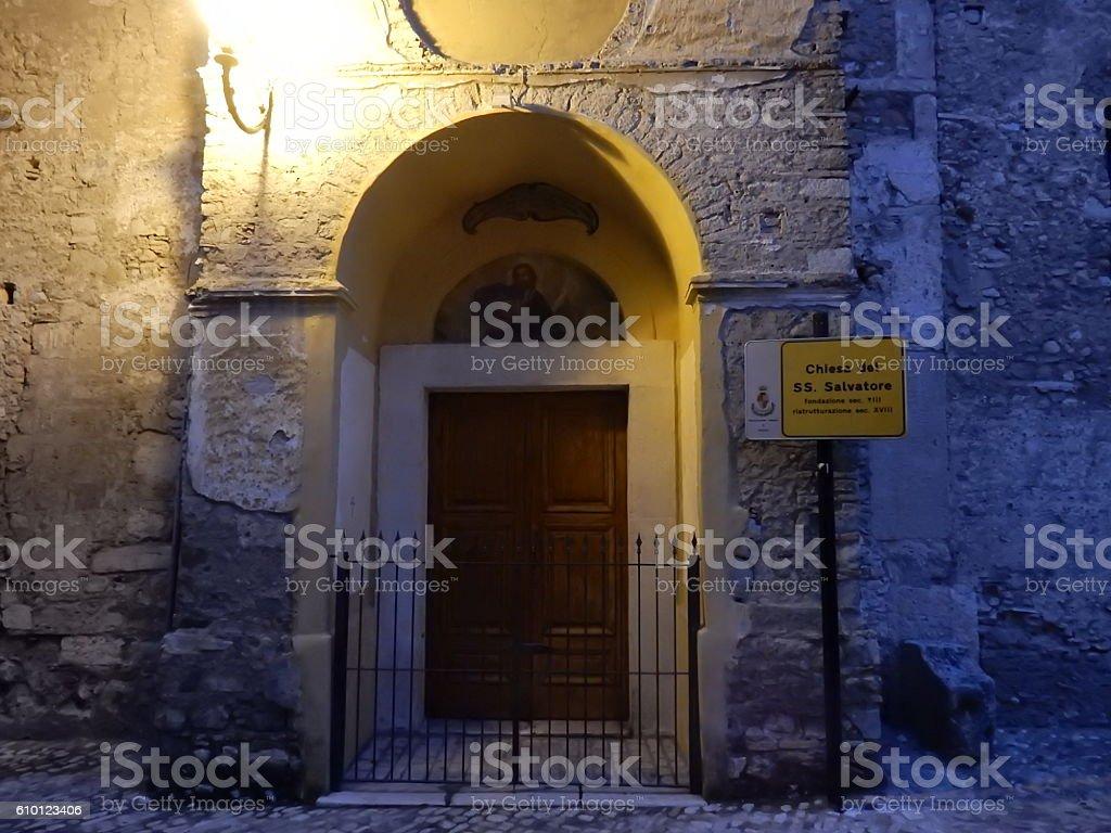 Chiesa del Santissimo Salvatore stock photo