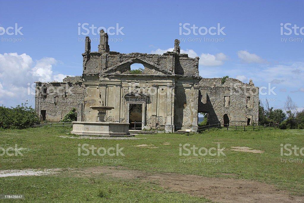 Chiesa di San Bonaventura royalty-free stock photo