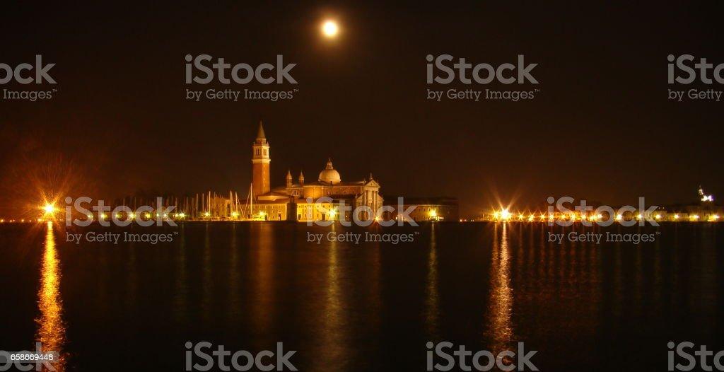 Chiesa di San Giorgio Maggiore - Venice, Italy stock photo