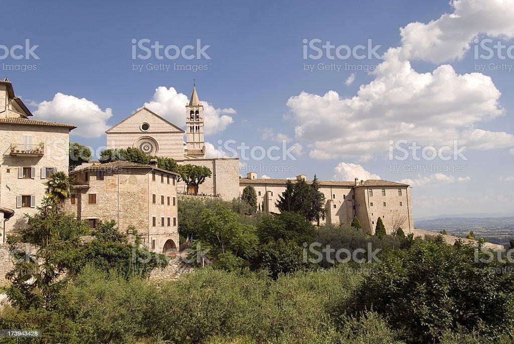 Chiesa Di Santa Chiara stock photo