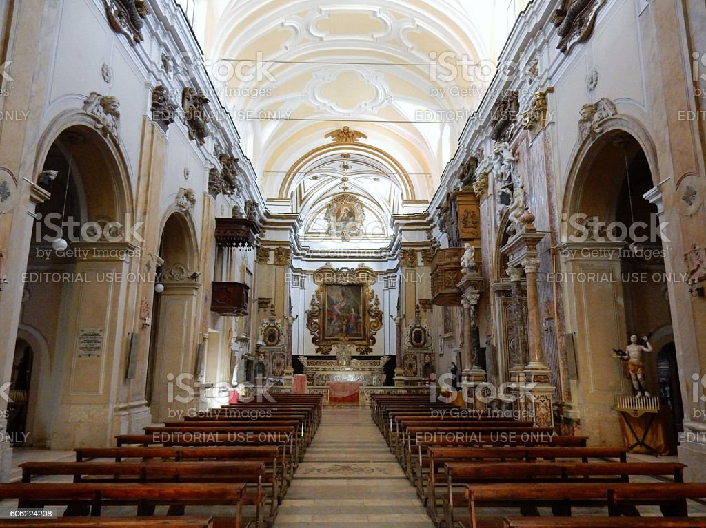 Chiesa di Santa Rita - Interno stock photo
