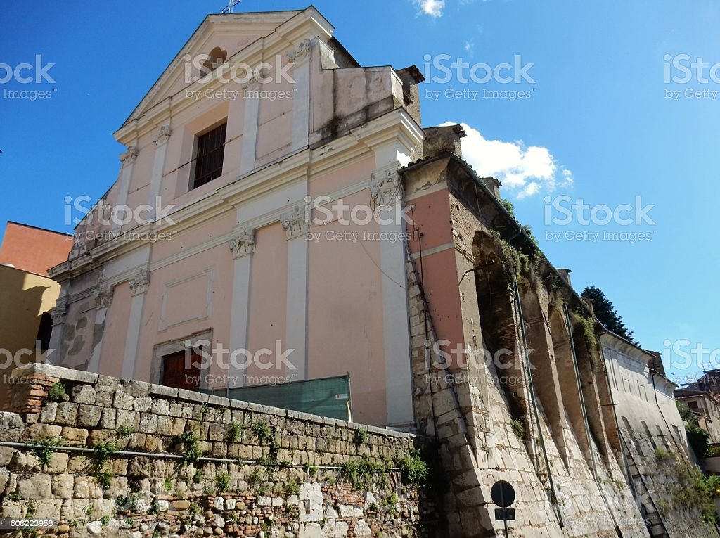 Chiesa di Santa Rita stock photo