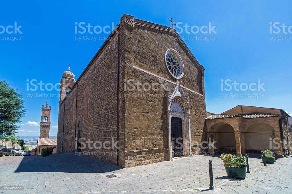 Chiesa di Sant'Agostino stock photo