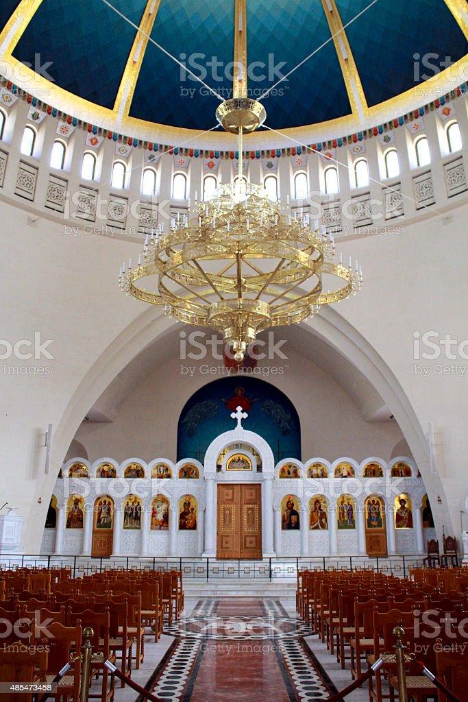 chiesa moderna stock photo