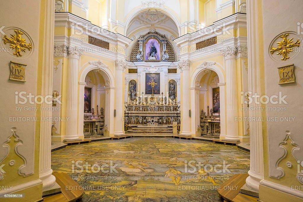 Chiesa San Michele Church in Anacapri stock photo