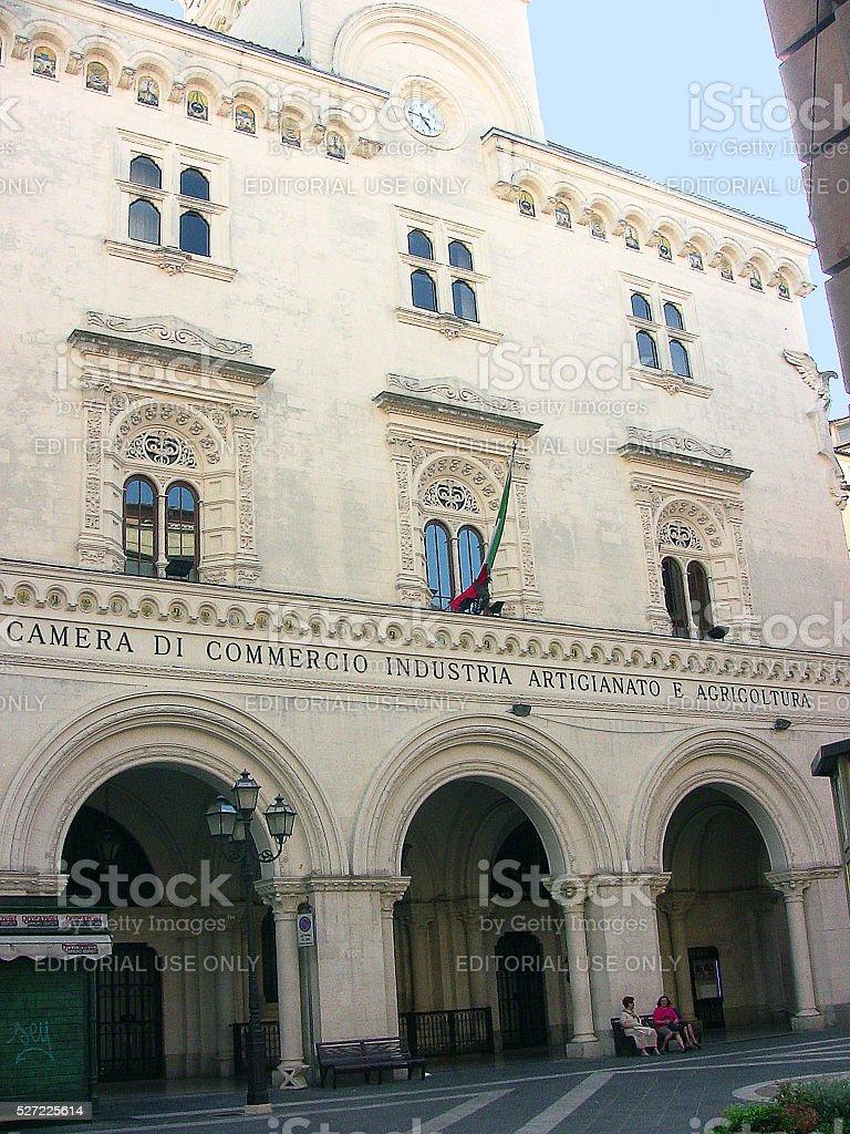 Chieti chamber of commerce stock photo