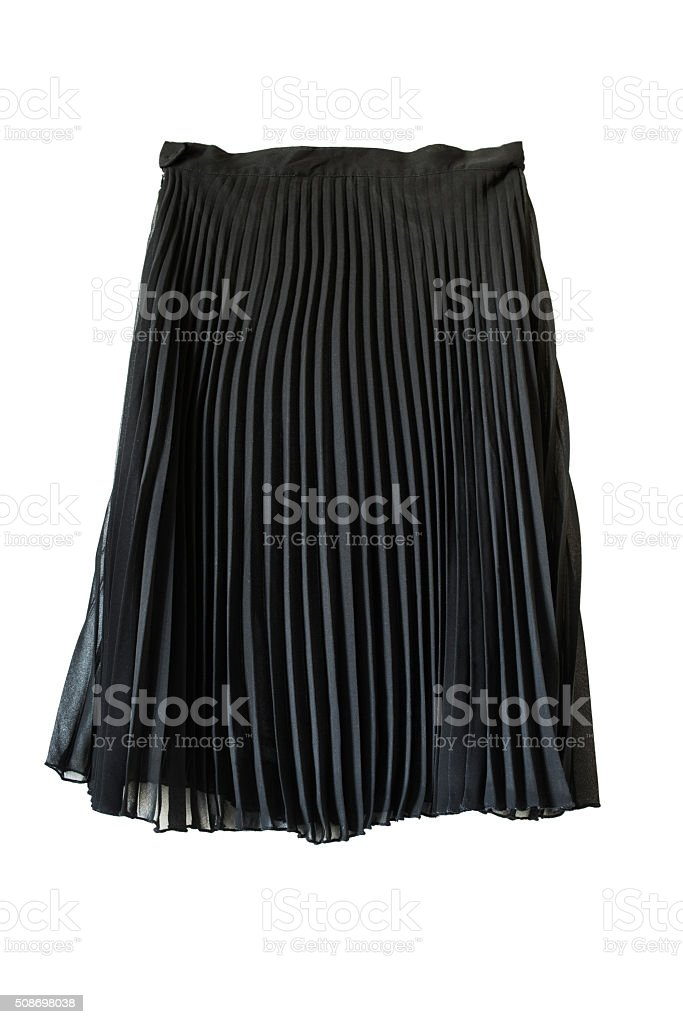Chiffon skirt stock photo