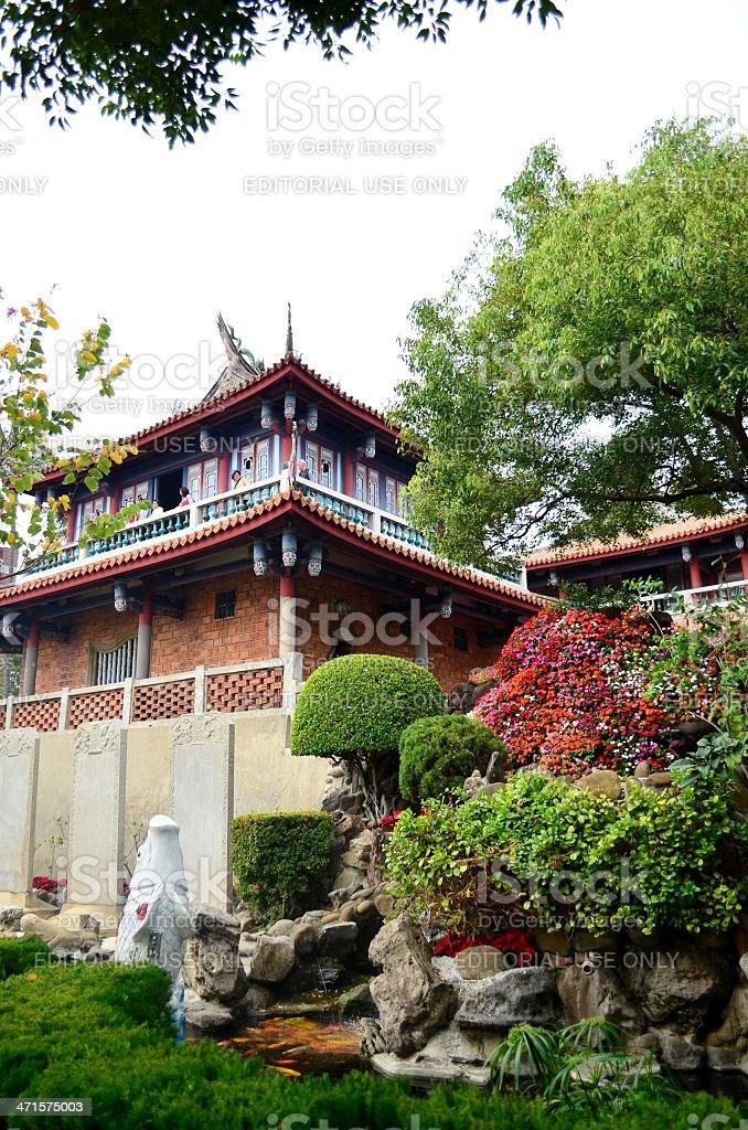 Chihkan Tower in Tainan, Taiwan royalty-free stock photo