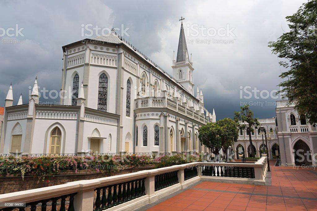Chijmes chapel stock photo
