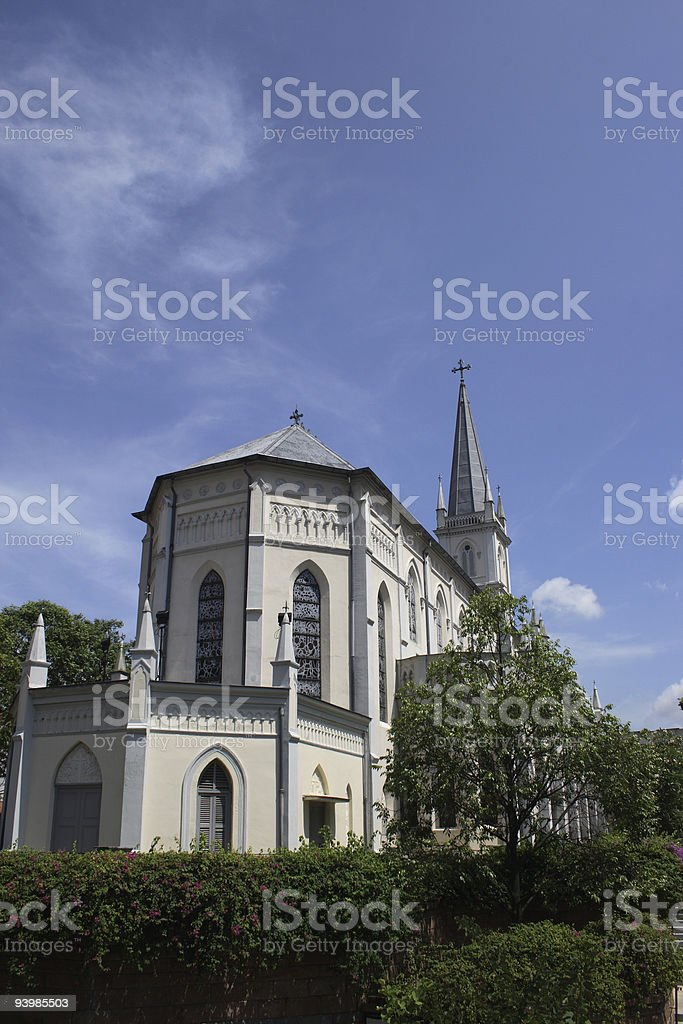 Chijmes in Singapore stock photo