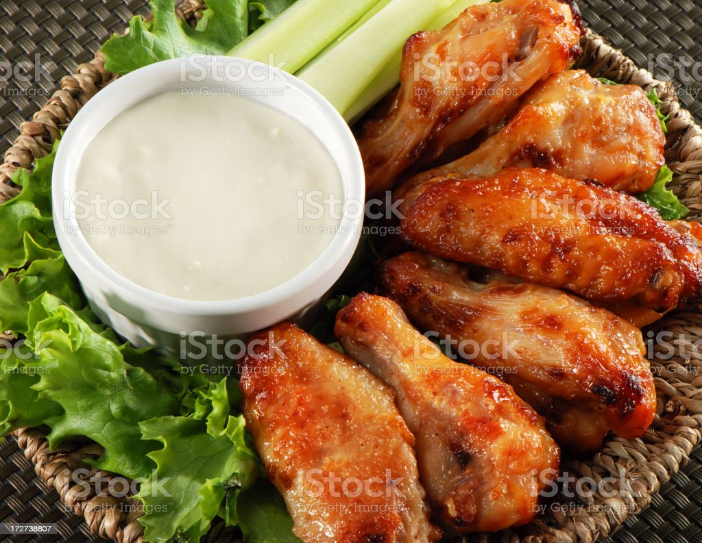 Chiken wings royalty-free stock photo