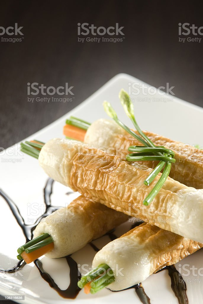 Chikuwa Appetizer stock photo