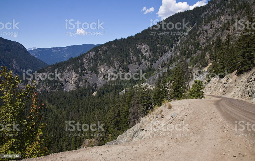 Chilcotin country landscapes, British Columbia stock photo