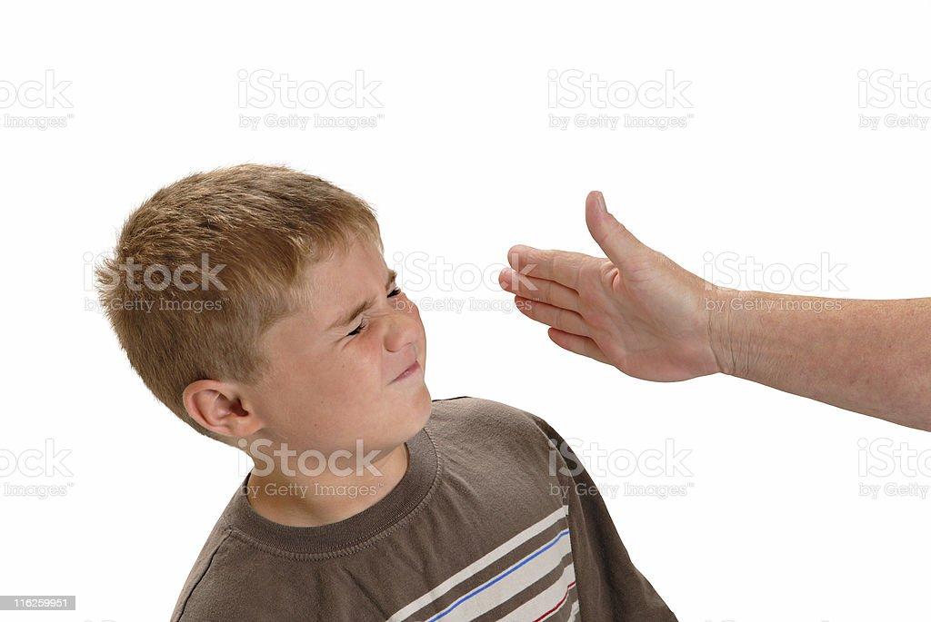 Child Abuse stock photo
