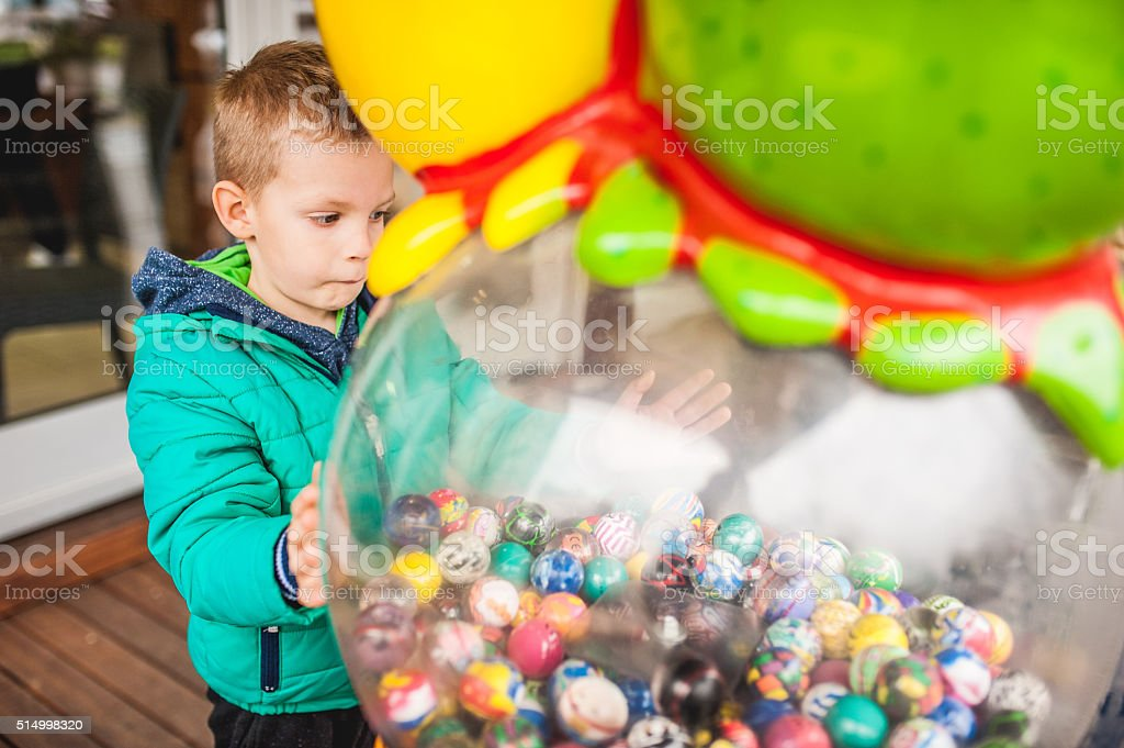 Child and Toys stock photo